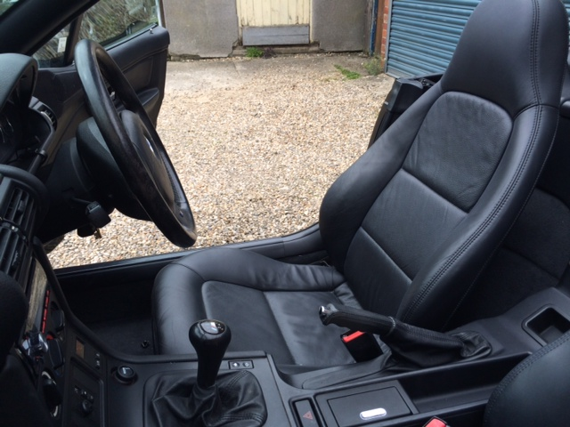 Refinished My Z3 Seats And Retrimmed The Steering Wheel